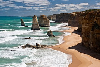 Barwon South West - The Twelve Apostles on the southwest boundary of the region.