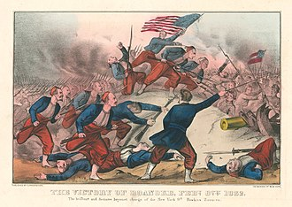 9th New York Volunteer Infantry Regiment - Image: The victory of Roanoke, Feby. 8th, 1862. (5531799193)