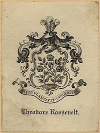 Theodore Roosevelt bookplate
