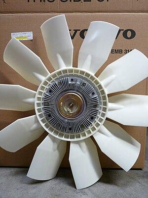 Fan clutch - Engine fan with viscous drive