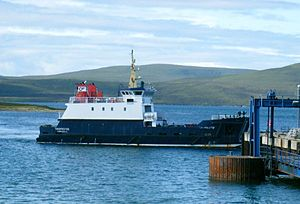Orkney Ferries - Thorsvoe at Houton
