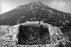 Pelops - Image: Throne of Pelops Mount Sipylus Manisa Turkey