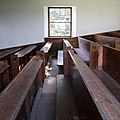 Tibbermore Parish Kirk - interior, view of pews.jpg