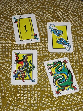 Tichu - Mah Jong, Dog, Phoenix, Dragon
