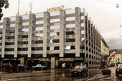 Sede de Correos, Locarno (1992-1995)