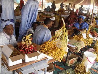 Economy of Mauritania - A market place in Tidjikja