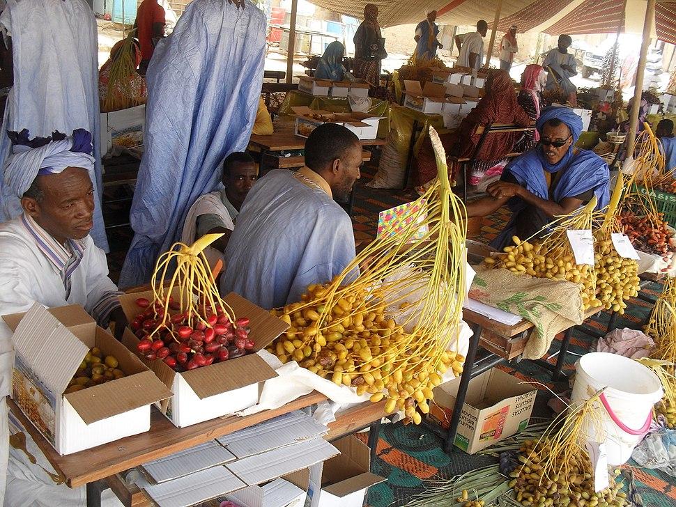 Tidjikja-Dates market
