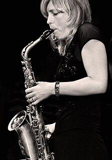 Tineke Postma Dutch saxophonist
