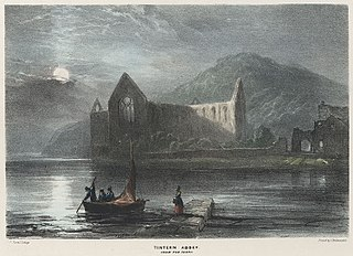 Tintern Abbey: From the ferry