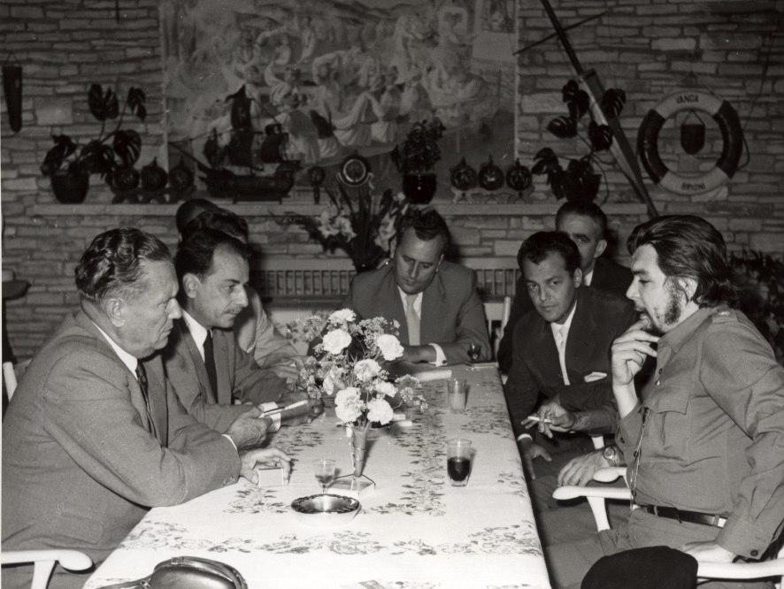 Tito sa Ernestom %C4%8Ce Gevarom, 1959. godina
