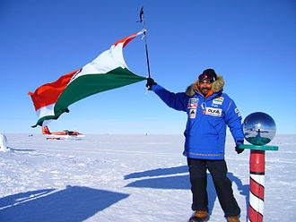 The Lawrence School, Sanawar - Ajeet Bajaj at the South Pole
