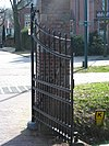 foto van Rhijngeest: toegangshek