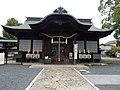 Tokumori Shrine(Worship hall).jpg