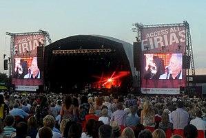 Eirias Stadium - Tom Jones in concert at Eirias Stadium