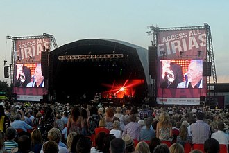 Eirias Stadium - Tom Jones in concert at Eirias Stadium