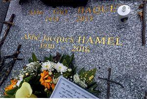 Jacques Hamel - Hamel's grave