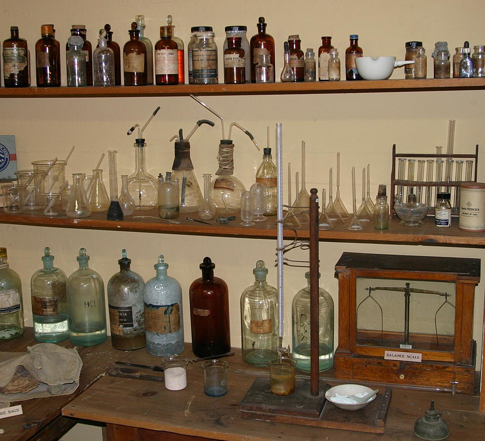 Tombstone courthouse assay lab