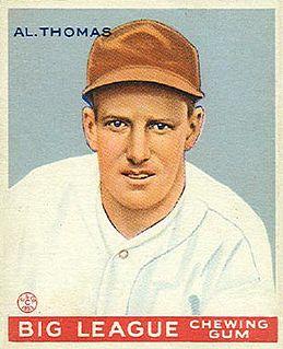 Tommy Thomas (baseball) American baseball player