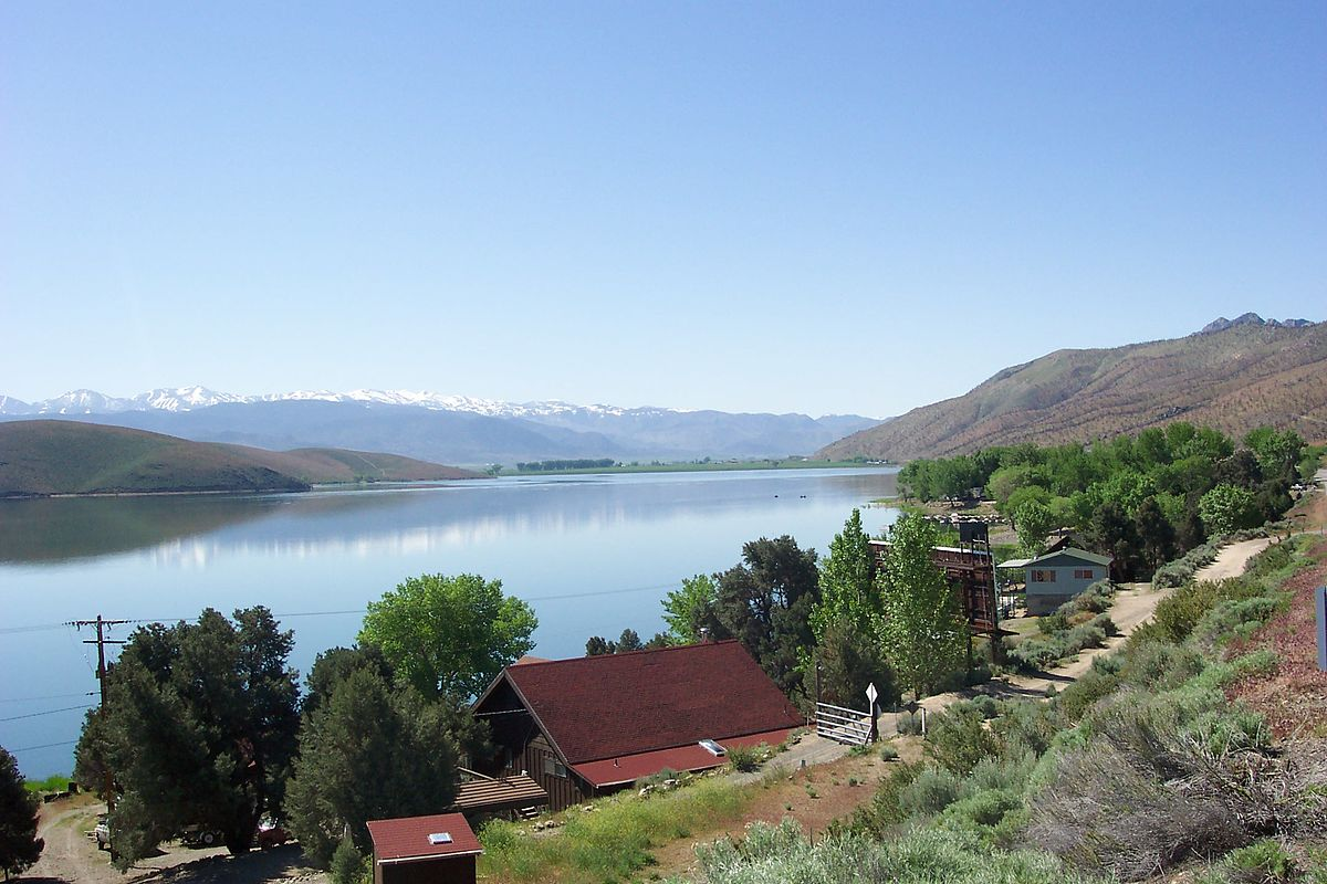 Topaz lake wikipedia for Topaz lake fishing