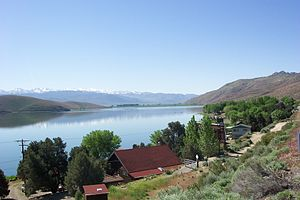 Topaz Lake - from the Nevada side