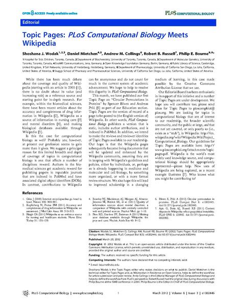 File:Topic Pages - PLoS Computational Biology Meets Wikipedia.pdf