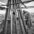 Torenspits tijdens restauratie - Ouddorp - 20178416 - RCE.jpg