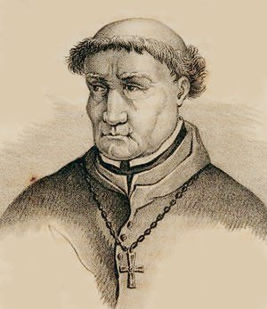 Inquisitor - Tomás de Torquemada, 15th-century Spanish Dominican friar and Grand Inquisitor.
