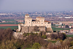 Castle of Torrechiara.