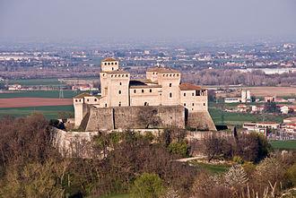 Langhirano - Castle of Torrechiara.