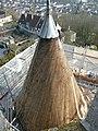 Tourelle sud-est de la Tour César à Provins.jpg