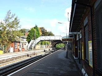 Aughton, Lancashire - Image: Town Green railway station