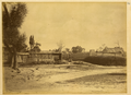 Town of Ganzhou Surrounded by a City Wall with Four Gates. Gansu Province, China, 1875 WDL2080.png
