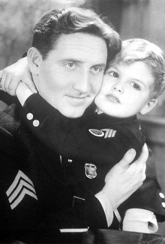 Spencer Tracy - With Dickie Moore in Disorderly Conduct (1932), Tracy's seventh film