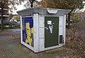 Trafohuisje door Titus Nolte, Caesarstraat, Nijmegen (2).jpg