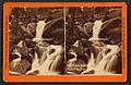 Trail House cascade, Pike's Peak Trail, by W. E. Hook.jpg