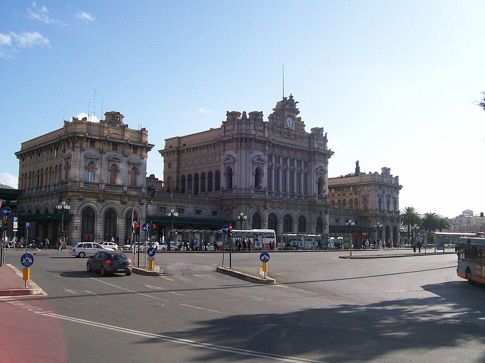 Train station - Genoa Brignole