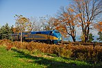 Trainspotting VIA - 57 from Kingston headed by GE P42DC -910 (8123471333).jpg