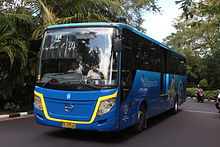 Trans Sarbagita bus, Denpasar and its outskirt areas main transportation