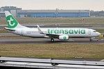 Transavia, PH-HXA, Boeing 737-8K2 (28193553150).jpg