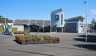 Green Square, New South Wales - Green Square with railway station entrance