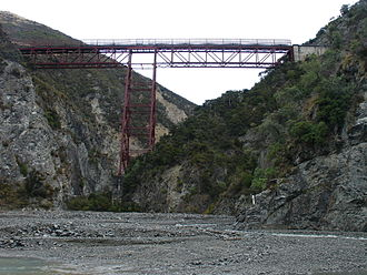 Midland Line, New Zealand - Stair Case Viaduct