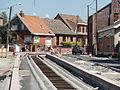 Travaux de la branche vers Vieux-Condé de la ligne B du tramway de Valenciennes en mai 2012 (105).JPG