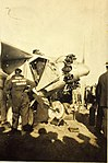 Travel Air 5000 City of Oakland being prepared for flight to Hawaii.jpg