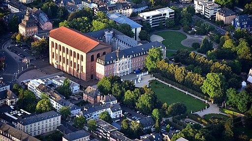 Trier 084x, Konstantin-Basilika, Kurfürstliches Palais