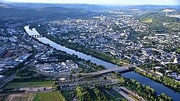 Trier, Luftaufnahme (2016)