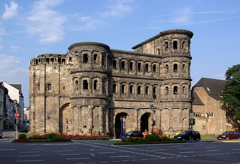 File:Trier Porta Nigra BW 1.JPG