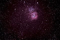 Trifid Nebula (catalogued as Messier 20 or M20 and as NGC 6514) - 5 July 2013.jpg