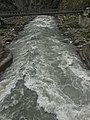 Trip to Northern Areas 1 Kunhar River bridge near Paras.jpg