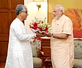 Tripura CM calls meets PM Modi.jpg