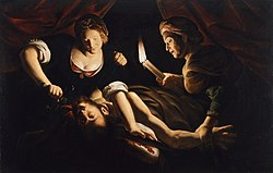 Trophime Bigot: Judith Cutting Off the Head of Holofernes